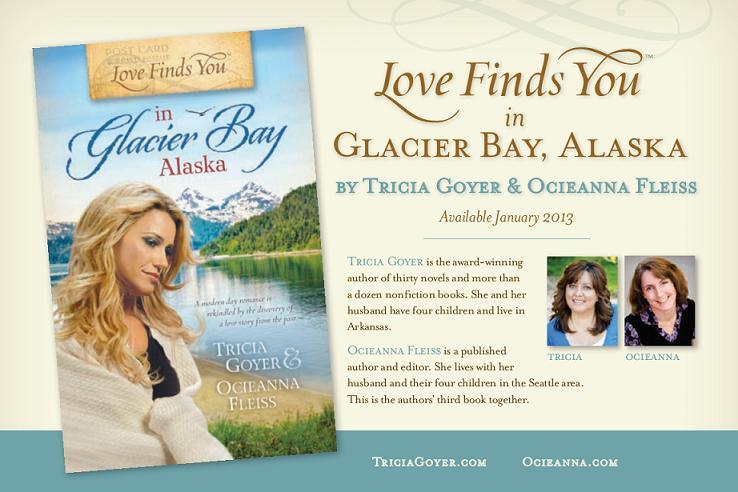 Love Finds You In Glacier Bay Alaska Post Card