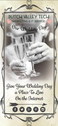 dutch valley tech online wedding photos