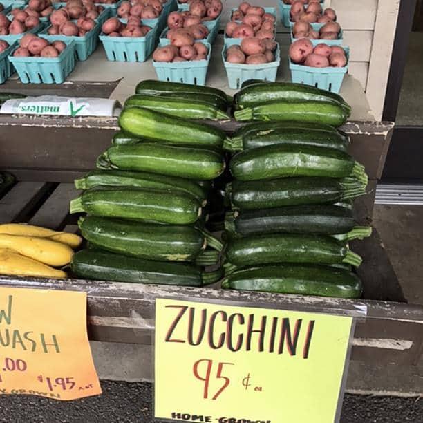 homegrown Zucchini