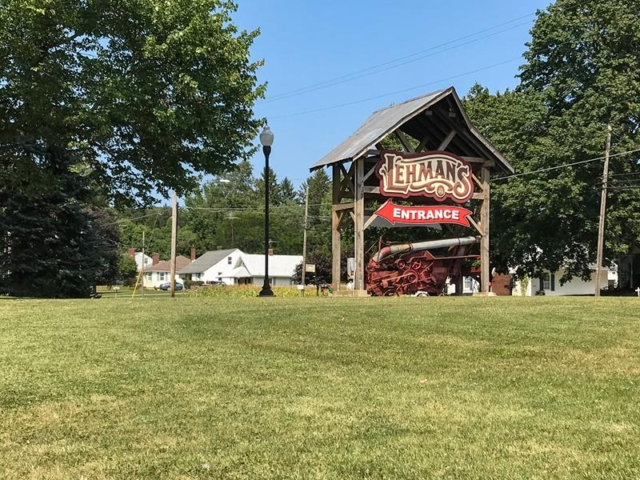 Lehmans-Entrance-Kidron-Ohio